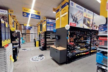 GNOJNIK (woj. małopolskie) – otwarcie sklepu Mrówka miało miejsce 31.07.2021 r., – inwestorem jest firma NOVUM.