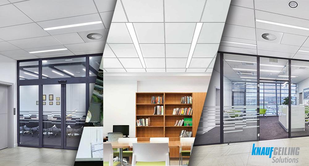 Oświetlenie sufitów podwieszanych