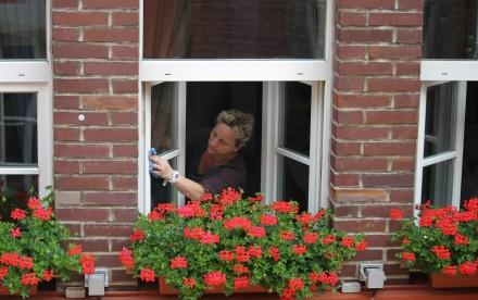 Mycie okien należy zacząć od wyczyszczenia ram (fot. pixabay.com)