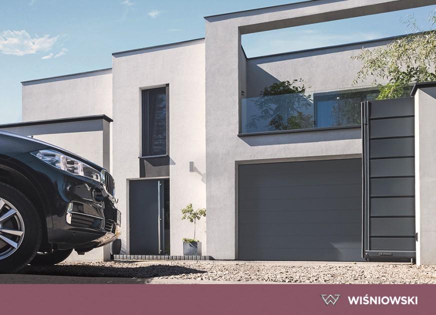 Brama, okna, drzwi i ogrodzenie w jednym designie - WIŚNIOWSKI