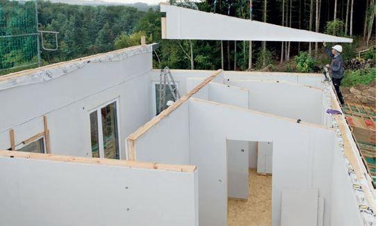 Produkty fermacell świetnie sprawdzą się jako ściany działowe i ściany konstrukcyjne