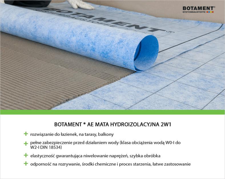 Mata hydroizolacyjna 2w1 Botament® AE