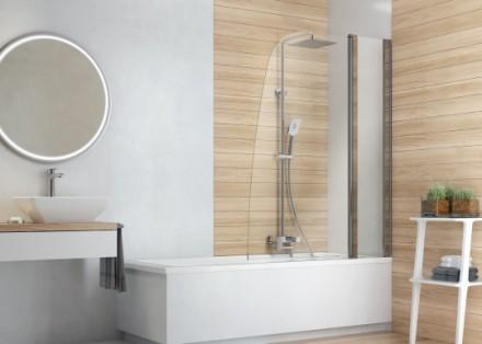 Deszczownicę można zamontować w większości pryszniców, a także nad wannami (fot. Deante)