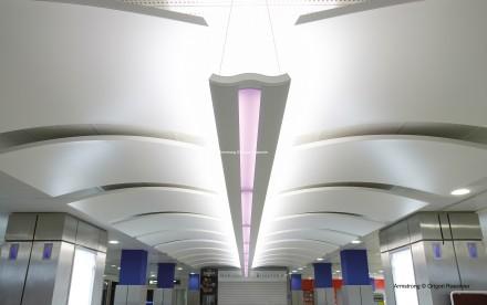 ARMSTRONG Falujące wyspy z linii Metal Canopy - Lotnisko w Nicei