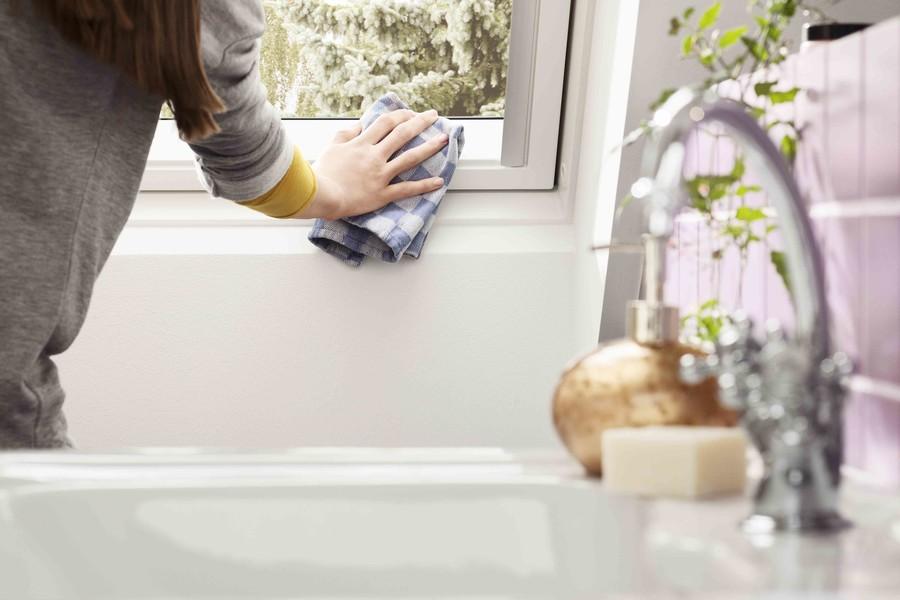 Okna drewniano-poliuretanowe są łatwe w utrzymaniu czystości