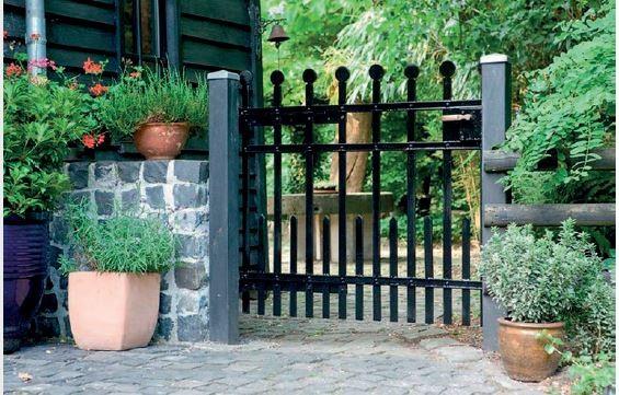 AKZO NOBEL - materiały do odnawiania metalowych ogrodzeń