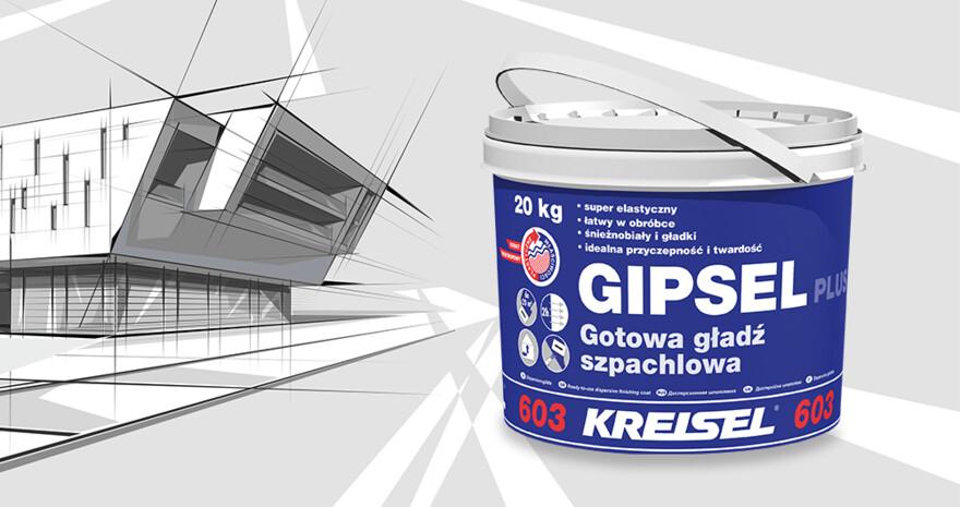 Gotowa gładź GIPSEL Plus 603