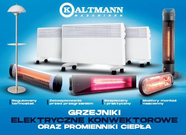ALTMANN - elektryczne grzejniki ; promirnniki ciepła