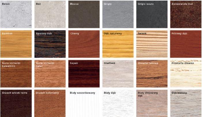 24 wzory powierzchni Duragrain dają bardzo szerokie możliwości kreatywnego zaaranżowania wyglądu elewacji domu. Bramy