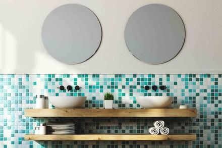 Umywalki nablatowe to symbol nowoczesności remontowanych łazienek