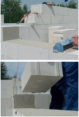 Murowanie na zaprawę murarską do cienkich spoin