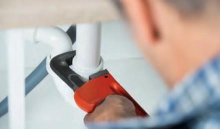 Zdj 2. Niezawodność instalacji wodociągowej zależy od materiału na rury, ich poprowadzenia oraz  doboru i montażu armatury.