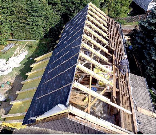 ISOVER - izolowanie termiczne poddasza