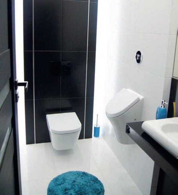 Zdj 5. Stelaż do płytkiej zabudowy WC