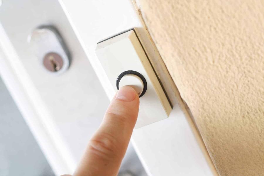Dzwonek do drzwi może odtwarzać różne melodie