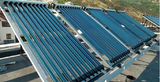 Kolektory słoneczne do ogrzewania wody
