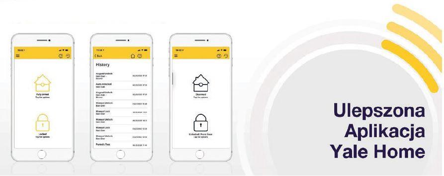 Aplikacja YALE HOME