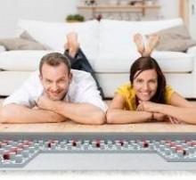 Płyty Knauf Therm Expert Floor Heating ograniczają straty ciepła i podnoszą efektywność ogrzewania podłogowego Fot. Knauf Therm