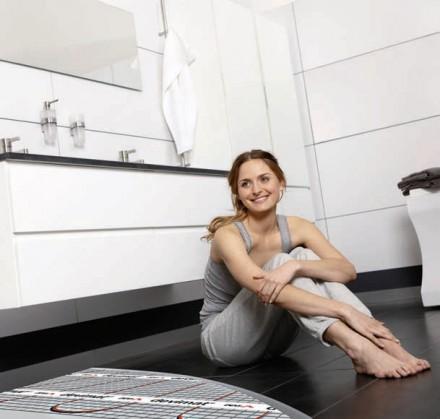 Elektryczne ogrzewanie podłogowe w łazience