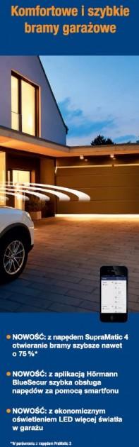 HORMANN - Komfortowe i szybkie bramy garażowe
