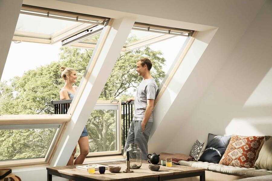 Nowoczesne okna dachowe to świetny sposób na doświetlenie poddasza
