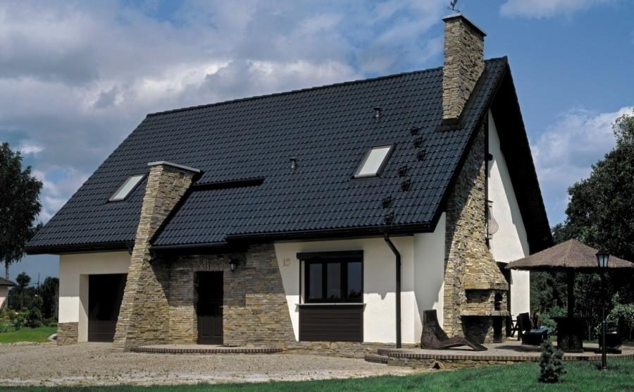 Dach dwuspadowy to najprostsza konstrukcja dachu