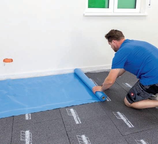 Zdj 2. Zabezpieczenie podłogi