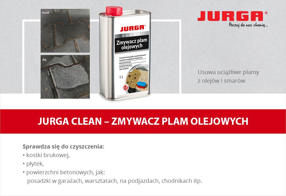 Jurga Clean - Zmywacz plam olejowych