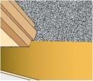 Docięcie paneli w drzwiach musi być precyzyjne. W tym miejscu często znajduje się połączenie z innym materiałem podłogowym.