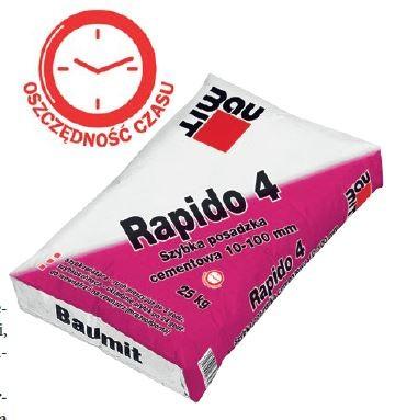 Rapido 4 firmy BAUMIT