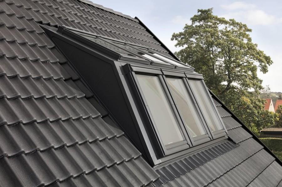 Lukarna z okien dachowych