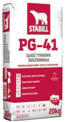STABILL PG-41 Gładź Tynkowa Śnieżnobiała