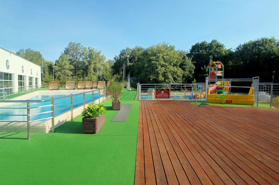 Aqua Park Sopot Wymalowano Olejem do tarasów V33