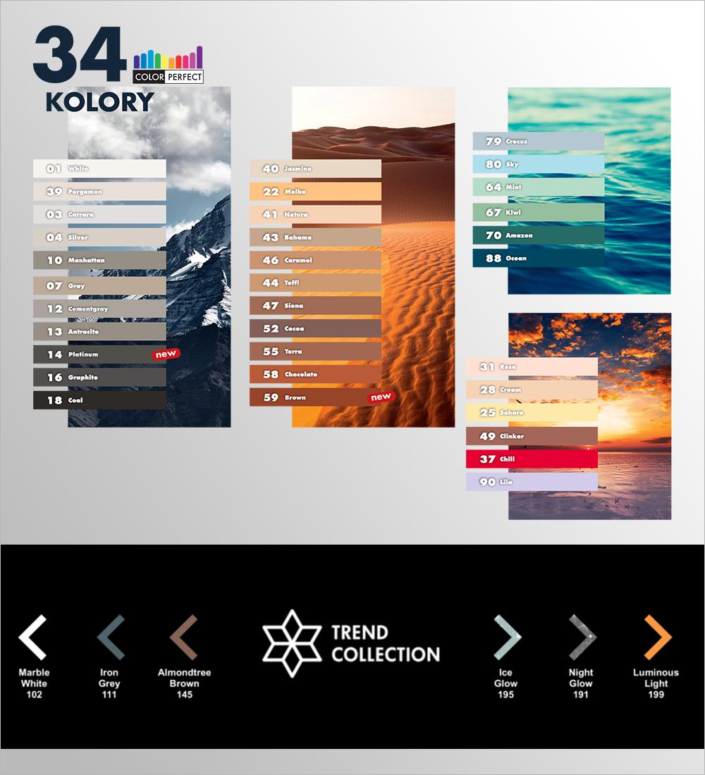 Ceresit - 34 kolory