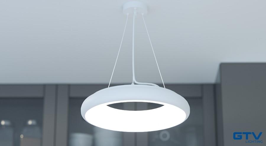 Lampa sufitowa do kuchni LED - model LEON