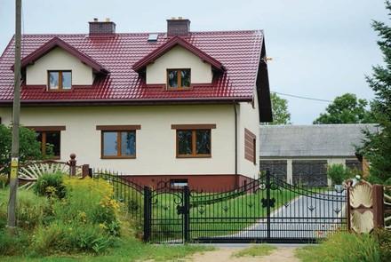 Zdj 2. Ocieplenie dachu podczas termomodernizacji stwarza możliwość uzyskania dodatkowej powierzchni mieszkalnej na poddaszu.