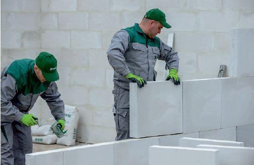 Wystarczy znać kilka podstawowych zasad aby murowanie z betonu komórkowego było bardzo proste.