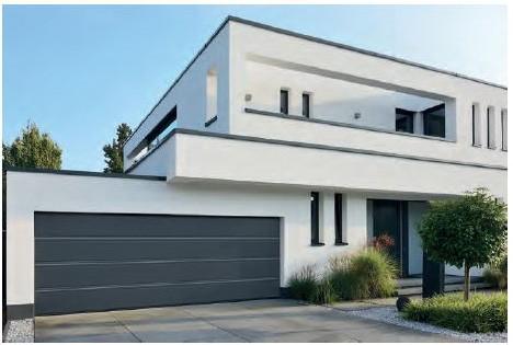 HORMANN - Piękna i funkcjonalna brama garażowa