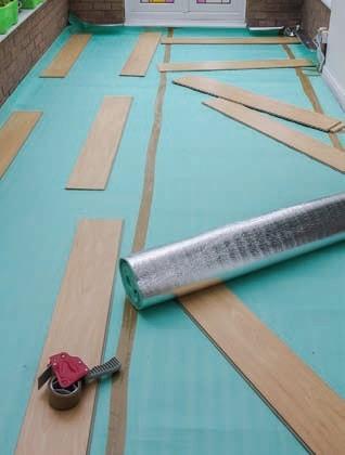 Zdj. 4. Przed montażem należy przygotować podłoże.
