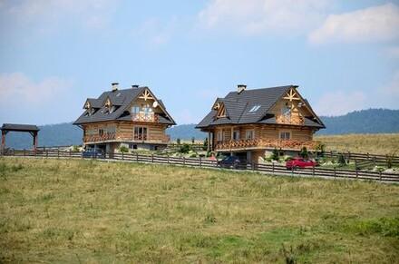 Domy w stylu góralskim