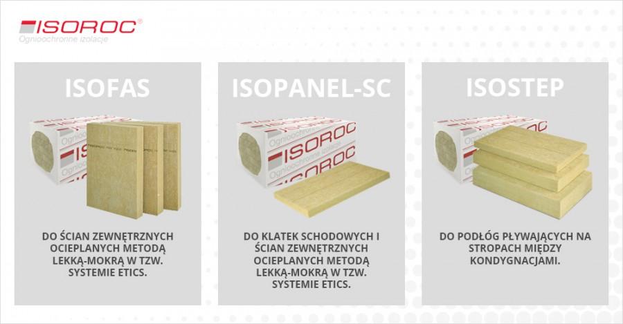 Produkty ISOROC