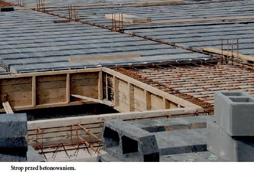 Strop TERIVA - Strop przed betonowaniem