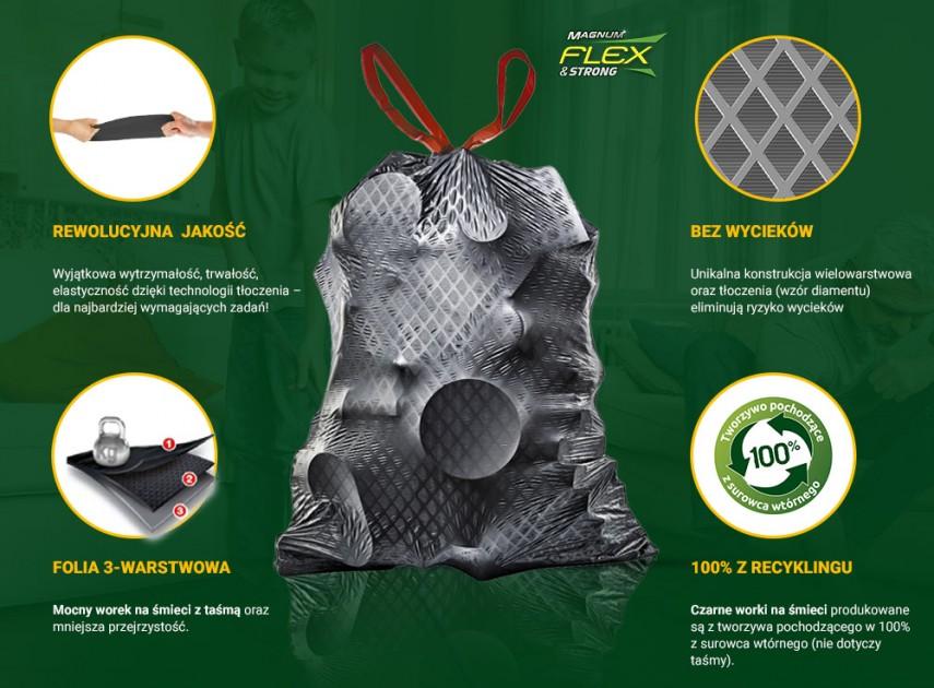 Zalety produktów Magnum Flex & Strong