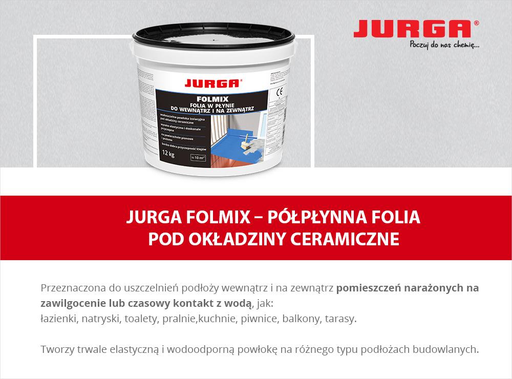 Jurga Folmix - Płynna folia pod okładziny ceramiczne