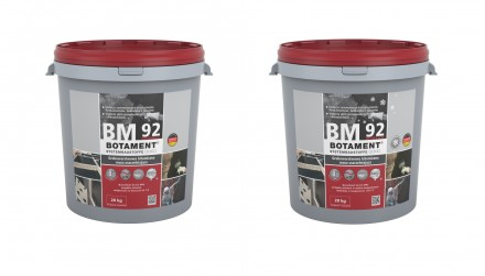 Zdj.1. Grubowarstwowa bitumiczna masa uszczelniająca Botament® BM 92 Schnell,  Botament® BM 92 Winter