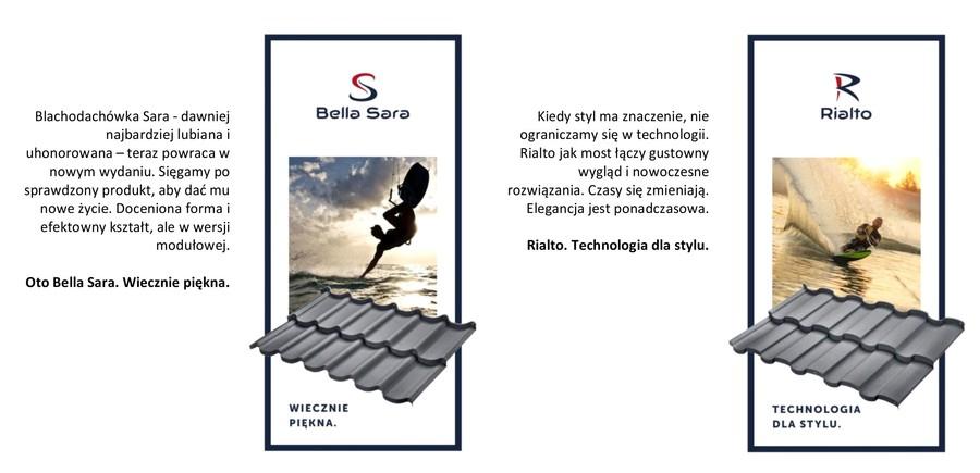 Dachy modułowe Budmat: modele Bella Sara i Rialto