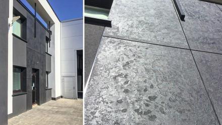 Tynki z efektem betonu można nakładać na wszystkie powierzchnie budowlane zarówno wewnętrzne, jak i zewnętrzne (fot. Weber)