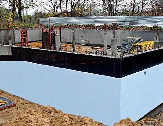 Hydroizolacje podziemnych części budowli