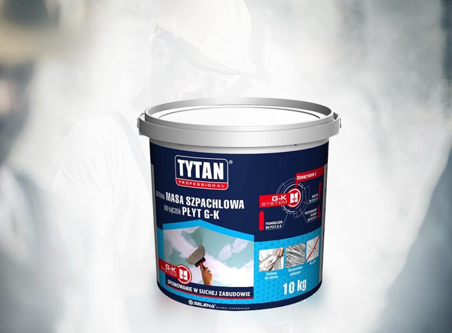 Tytan masa szpachlowa do łączeń płyt g-k