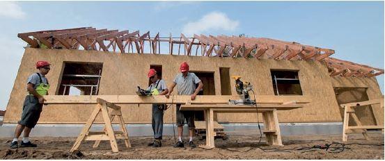 Budowa domu w konstrukcji szkieletu drewnianego